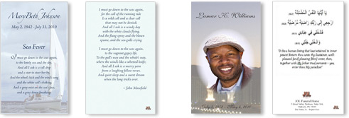 Journey of Life™ - On-demand Printing of Custom Funeral Programs ...